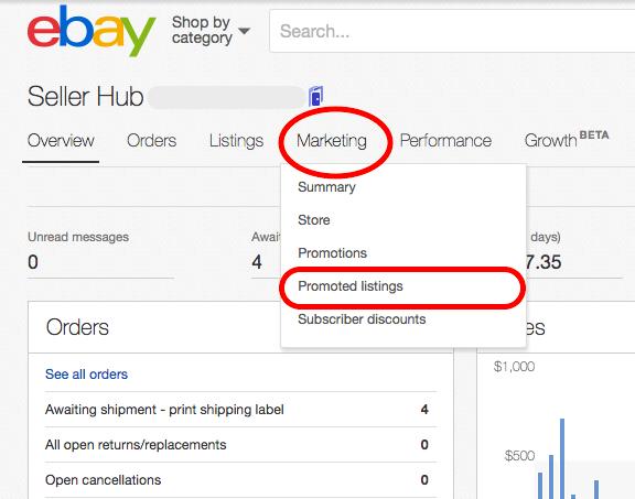ebayのpromoted listings を在庫数1でも実施する方法 ebay夫婦のマンガ